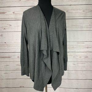 LOFT draped sweater